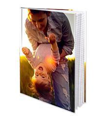 Cuaderno con tapa dura A5 (cuadriculado)