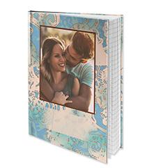 Cuaderno con tapa dura A5 diseño (a rayas)