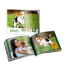 Pixum Fotobuch mini (Querformat) - Softcover, Premiumpapier matt (26 S.)