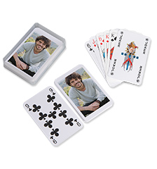Photo poker cards (55 cards)
