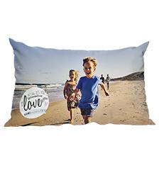 Premium Design Photo Cushion (80×40 cm)