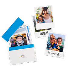 Retro Prints with gift box - set of 24 (card paper matt)