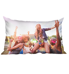 Premium Photo Cushion (rectangular) (80×40 cm)