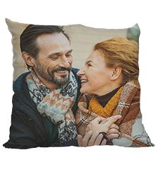 Cuscino con foto fronte e retro (80×80 cm)