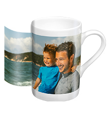 Porcelain photo mug (panoramic)