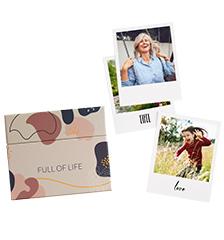 Retro Prints with gift box - set of 24 (card paper matt)