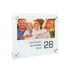Plaque de porte photo (Tableau photo Plexi)