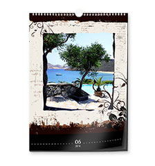 Fotokalender: Design-kalender A3 (staand)